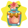 Pink narcissus perfume
