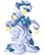 Glass Lantern Tree