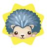 Hedgehog plushie