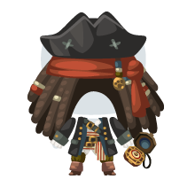 Pirate prince outfit