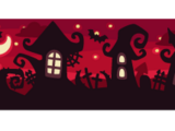 Halloween Garden Wallpaper