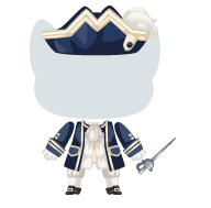 Sea admiral outfit