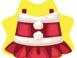 Cute Santa Girl Dress