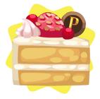 Cream and strawberry shortcake