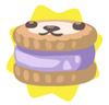 Lavender petling biscuit