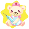 Nurse bear plushie