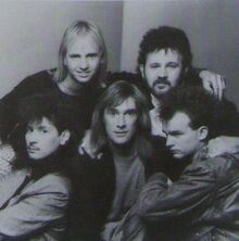 Petra band On Fire 1988