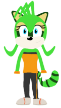 Felicia the Raccoon