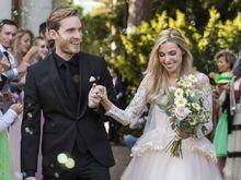PewDiePie and Marzia wedding