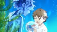 Hiroki and water
