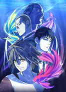 Main anime visual