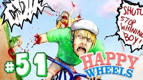 PEWDIEPIE QUIZ! - Happy Wheels - Part 51