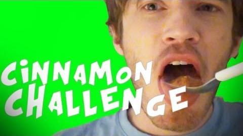 CINNAMON CHALLENGE FAIL - Fridays With PewDiePie (Episode 21)