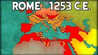 Reconquest Of Rome ~ EU4 Timelapse