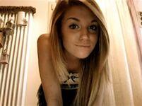 Gothic teen naked selfies