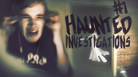 I BROKE MY CHAIR! D - Haunted Investigations (Demo) - Part 1