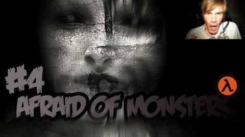 Funny Horror WE GOT THE GUN - Afraid Of Monsters - Part 4