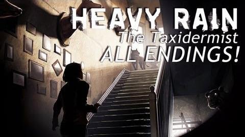 ALL ENDINGS - Heavy Rain DLC The Taxidermist