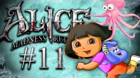 CAN YOU SPOT THE OCTOPUS? - Alice Madness Returns - Part 11