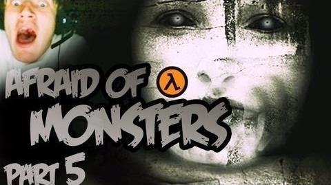Funny Horror CHOP CHOP CHOP - Afraid Of Monsters - Part 5