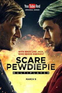 Scare pewdiepie 2 poster