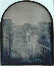 The Barricade in rue Saint-Maur-Popincourt after the attack by General Lamoricière's troops, Monday 26 June 1848