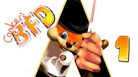 Conker's Bad Fur Day (1) w Pewds