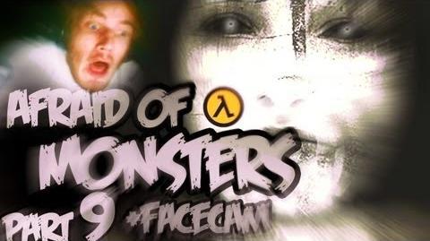 Funny Horror NEW GUN! C - Afraid Of Monsters - Part 9