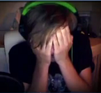 Pewdie after getting scared