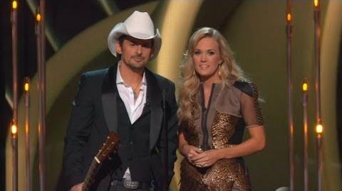 CMA Awards 2013 Opening - Carrie Underwood & Brad Paisley
