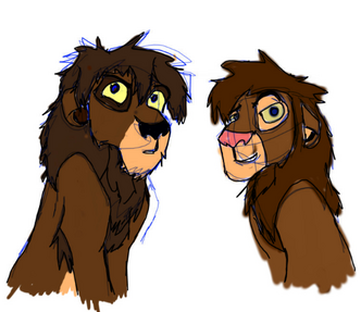 Cain and Able lions
