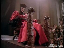 Q in Judge Robes (Star Trek TNG)
