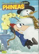 Phineas Holiday Poster