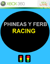 PHINEAS Y FERB RACING POSTER 1