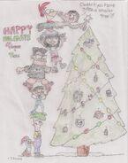 P&F Christmas Tree pic