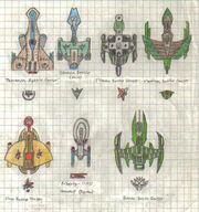 Alien Ship Types