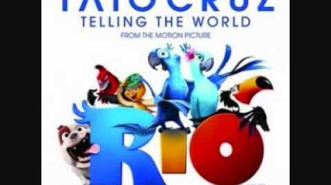 Taio Cruz - 'telling the world' (from the RIO soundtrack)