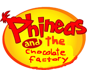 Phineas and the chocolate factory logo