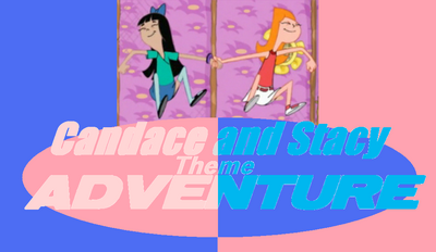 Candace and Stacy Theme Adventure! Logo