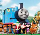 Phineas and Ferb meet Thomas the Tank Engine