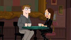 Vanessa and Monty tea