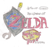 The Legend of Zelda Phineas and Ferb Edition logo