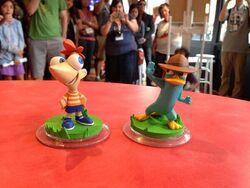 Disney Infinity Phin & Perry