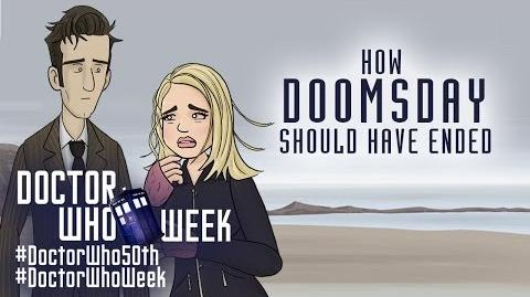 Doctor Who How Doomsday Should Have Ended