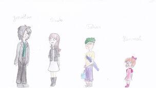 Johnessa and Ferbnessa kids