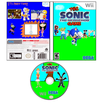 User blog:Oscar9545/The Sonic the Hedgehog Game   Phineas and Ferb ...