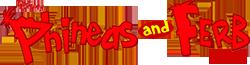 Phineas and Ferb sideways logo