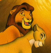 Sarabi and Mufasa