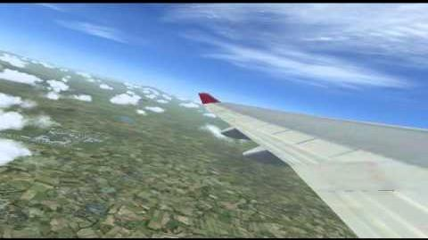 FSX Pacifica Airlines Jakarta to Lampung