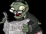 Zeitung-Zombie